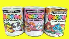 Poopsie Slime Surprise Series 1 vs Series 2 Opening!! DIY Unicorn Slime