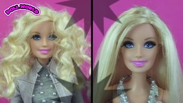 Barbie Doll Hair Makeover Doll Hair Hi Lites