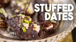 Stuffed Dates - Easy No Cook Recipe - Kravings