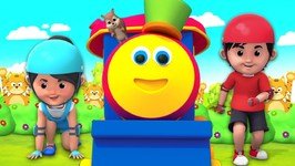 No Sleep And All Play - Bob The Train Shorts - Cartoon Shows For Babies