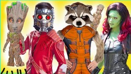 NEW Guardians Of The Galaxy Ride Mission VS Kids Toys Costumes Groot