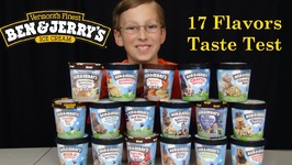 Ben And Jerrys Ice Cream Taste Test -- 17 Flavors