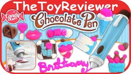 Candy Craft Chocolate Pen Unboxing Review