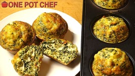 Spinach And Feta Mini Frittatas
