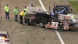 Man Tasered by Police After Crash and Clash at Indiana Race Event