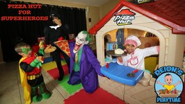PIZZA HUT for BATMAN & ROBIN with CHEF DEION (Skit)