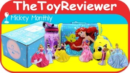 Disney Subscription Box September 2017 Mickey Monthly Original Unboxing Toy Review