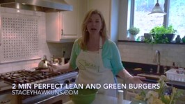2 Min Perfect Lean and Green Burgers