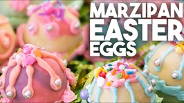 Easy To Make Marzipan Easter Eggs