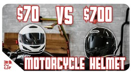 70 vs 700 Motorcycle Helmet - Is it worth the price
