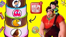 RALPH BREAKS THE INTERNET Candy Cake Game w/ Surprise POWER PAC Toys