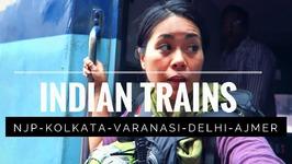 INDIAN TRAIN TRAVEL - Inside CC & AC3 CLASS - India Travel Vlog