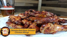 Oktoberfest Beer Brined Chicken Wing