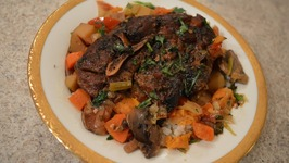 Slow Cooked Napa Valley Lamb Shoulder Stew In A Crock Pot