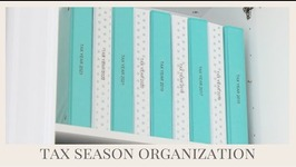 Home Organization  Tax Organization Tips
