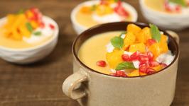 Mango Pudding Recipe - Homemade Pudding Recipe - The Bombay Chef - Varun Inamdar