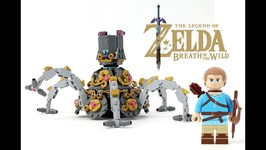 Lego Legend of Zelda - Breath Of The Wild Guardian W - Link Minifigure - Vote On Lego Ideas