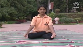 Yoga Exercise For Beginners - Padmasana - Lotus Pose