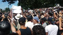 Boston 'Free Speech' Protesters Mobbed by Angry Crowd