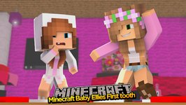 Minecraft - Little Kelly Adventures : BABY ELLIES FIRST TOOTH!