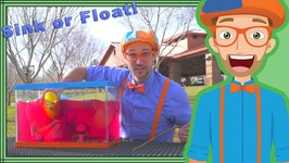 Sink or Float with Blippi - Fun Science Videos for Kids