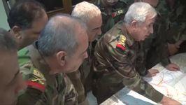 Senior Syrian Military Commander Visits Deir Ezzor in Push to Capture City