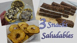 Snacks Saludables  Como hacer Snacks Faciles y Rapidos  Snacks Sanos  Snacks de Chocolate
