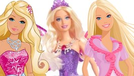 Barbie Dolls Videos - Barbie Doll Hair Style Salon - Kids Toys Videos - Barbie Dolls Toys
