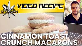 Cinnamon Toast Crunch Macarons