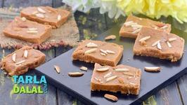 Besan Barfi-Indian Sweet