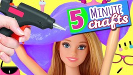 5 Minute Crafts To Do When You Are Bored - 10 Barbie DIY Crafts