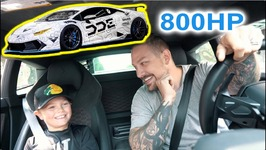Giving Rides In 800 Hp Supercharged Lamborghini - Reactions