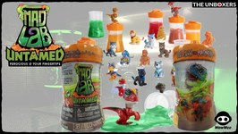 Untamed Mad Lab Minis the Hybrid Creatures you Extract From Slime, Sand and Clay