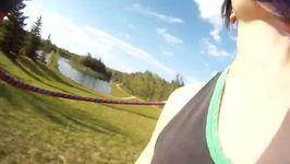 GoPro Captures Woman's Impressive Hula Hoop Skills