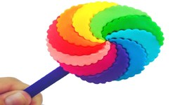 Best Learning Colors Play Doh Ice Cream Popsicles Slime Jelly Cake Modelling Clay