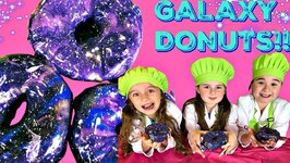 Yummy Galaxy Donuts