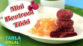 Mini Beetroot Tikki