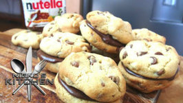 Nutella Choc Chip Cookie Sandwich