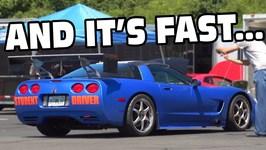 The Student Driver Corvette Is BACK! 1/2 Mile Shootout