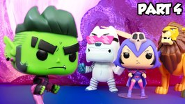 Teen Titans Go - The Night Begins To Shine 4 - Beast Boy Saves Ceelo Bear
