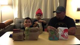Chicken Nuggets Challenge with Damian and Deion
