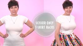 Get Tied Up With This Week's T-Shirt Scissor Hack