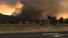Canyon Fire in Southern California Prompts Hundreds to Evacuate