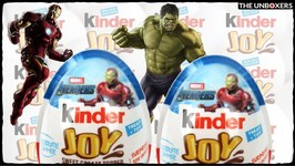 Kinder Joy Avengers Chocolate Surprise Eggs