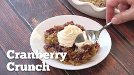 Cranberry Crunch