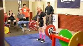 Inspirational 76-Year-Old Woman Dead-Lifts 200 Pounds