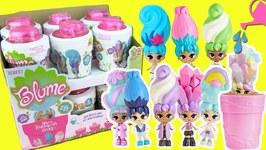 Blume Dolls FULL BOX Opening! Mystery Squishy Hair Skyrocket Toys