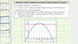 Quadratic App - Find The Inputs For A Given Function Value - Quadratic Formula