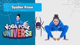 Spider Pose - Yoga Pose Universe