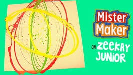 Messy Swirly Challenge - Mister Maker's Arty Party